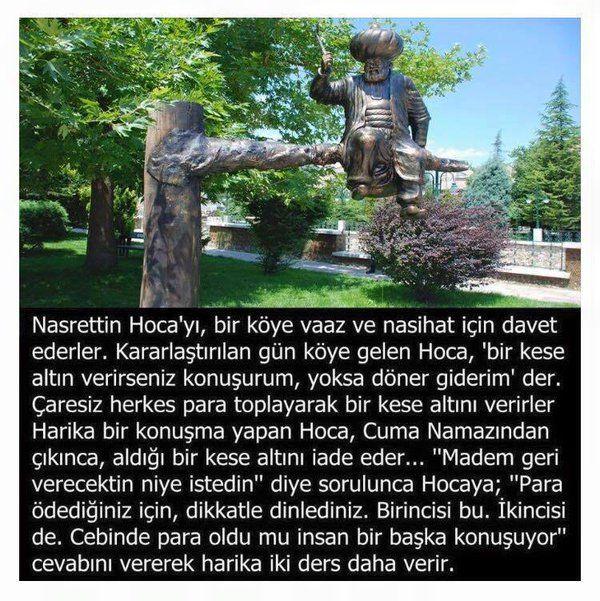 Nasreddin Hoca'dan Ders