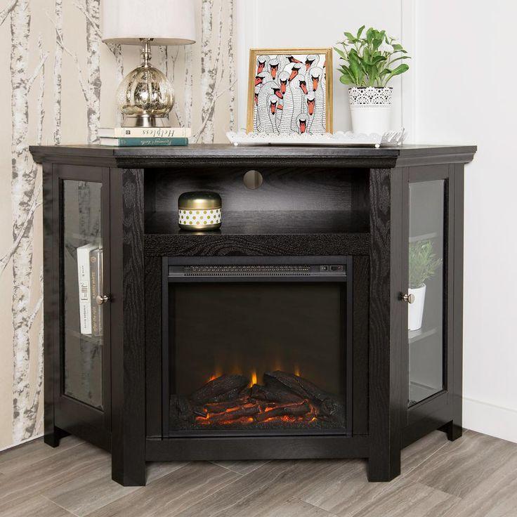 Best 25+ Corner fireplace tv stand ideas on Pinterest | Corner tv ...