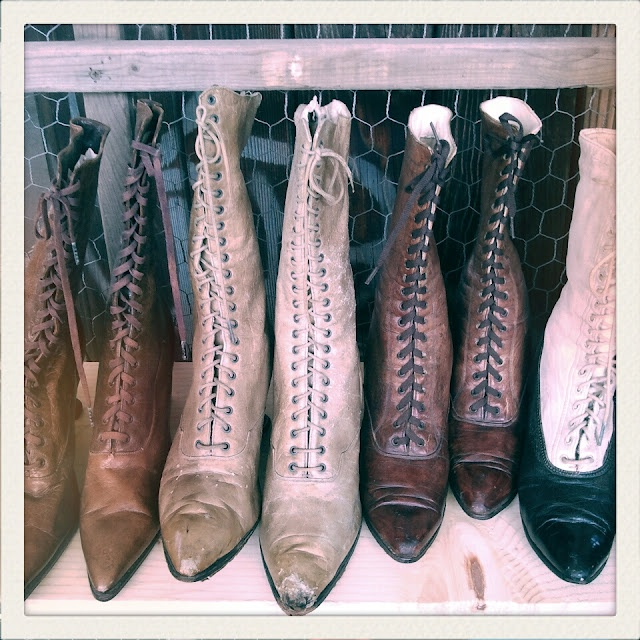 I am longing for a pair of Victorian Lace Up Boots
