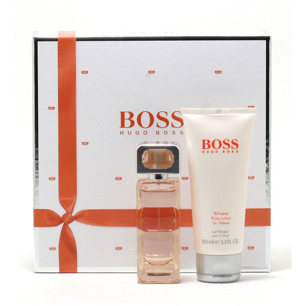 Hugo Boss BOSS Orange Two-Piece Gift (£42) ❤ liked on Polyvore featuring beauty products, fragrance, hugo fragrance, hugo perfume, eau de perfume, blossom perfume and flower fragrance