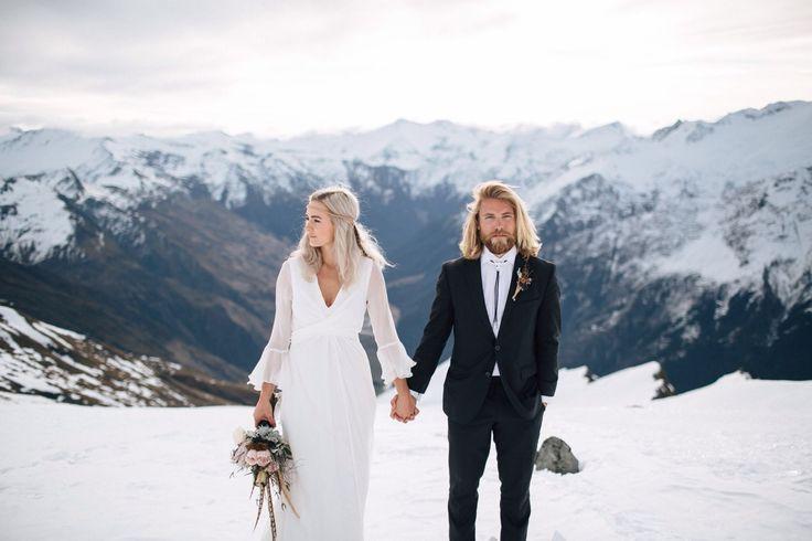 Imagine a snow wedding!!!