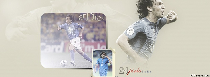Italy Andrea Pirlo Facebook Covers