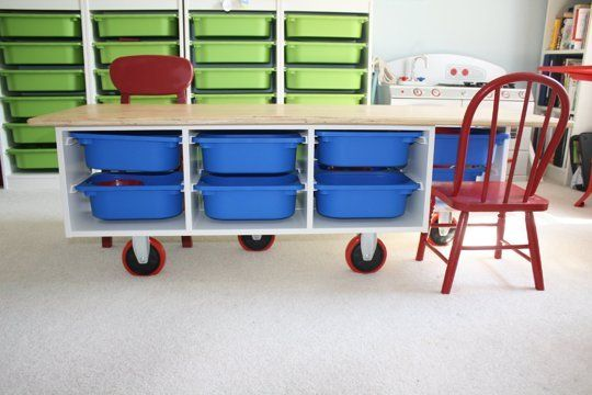 Beyond Toy Storage: 20 Ways to Hack, Tweak, Repurpose & Reimagine IKEA's Trofast