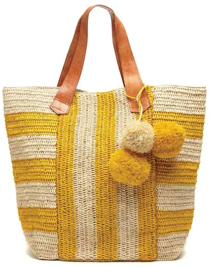 Tote Bag - YELLOW MESH by VIDA VIDA eRCMirq8s