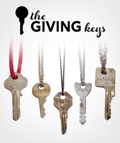 The Giving Keys helps employ those transitioning out of homelessness while bestowing positivity and hope upon others