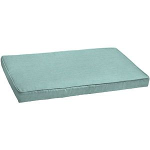 Better Homes and Gardens Loveseat Outdoor Cushion, Aqua Texture