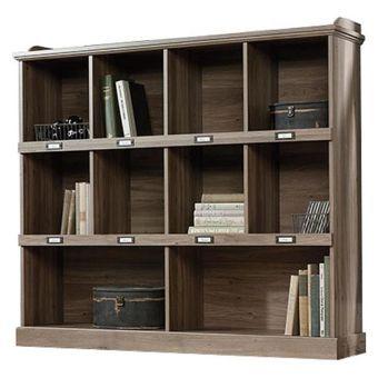 Barrister Lane Bookcase in Salt Oak | Nebraska Furniture Mart