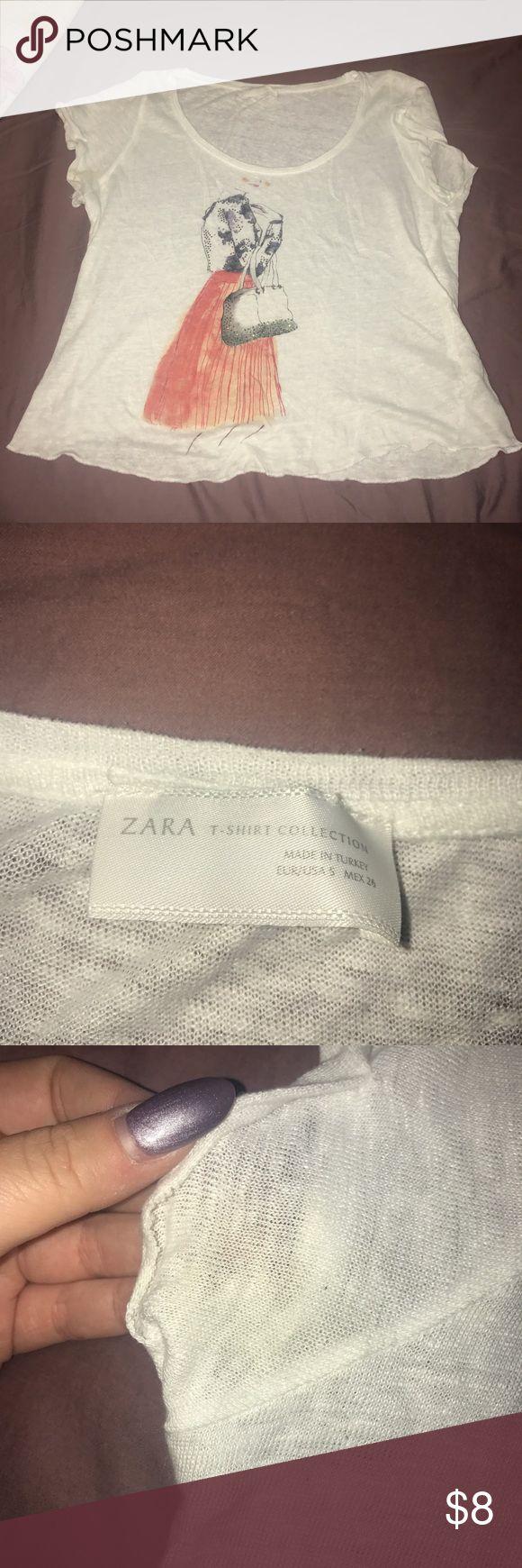 Zara tshirt used size small Zara tshirt used size small Zara Tops