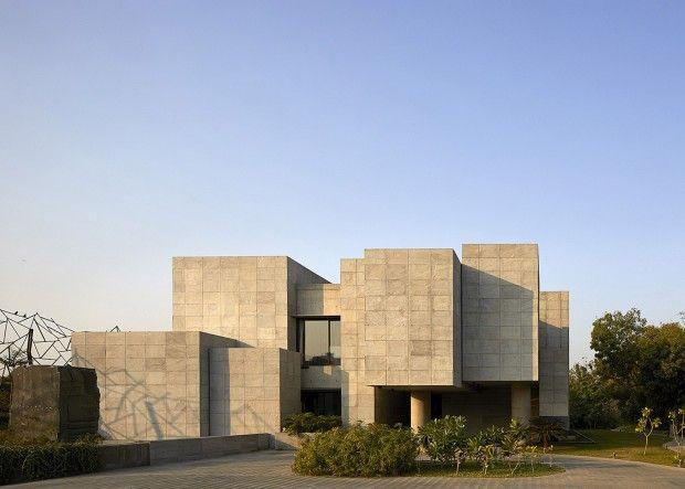 Geometrie Et Minimalisme En Inde Par Matharoo Associates Agence