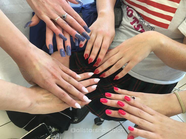 Group nails