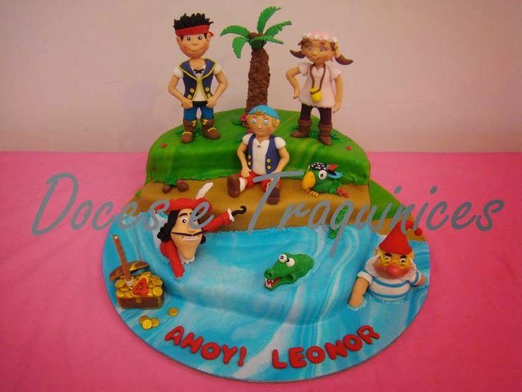 Cake Design Jake E Os Piratas : Doces e Traquinices: Os nossos bolos do