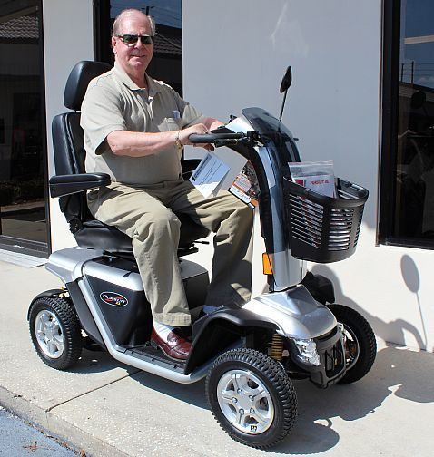 Pursuit Xl Pride Mobility S714 Heavy Duty Mobility Scooter