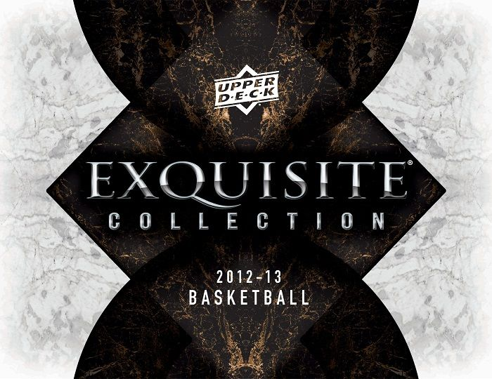 2012-13 Upper Deck Exquisite Basketball Hobby Box
