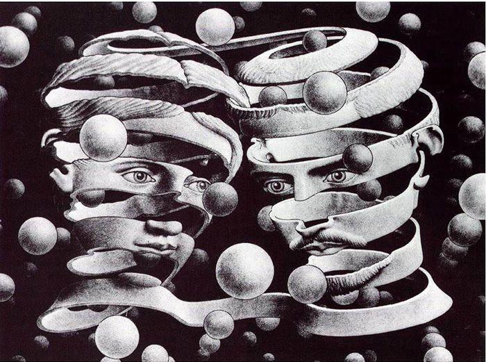 L'enigma Escher. Paradossi grafici tra arte e geometria. Reggio Emilia, Palazzo Magnani, dal 19 ottobre 2013 al 23 febbraio 2014.