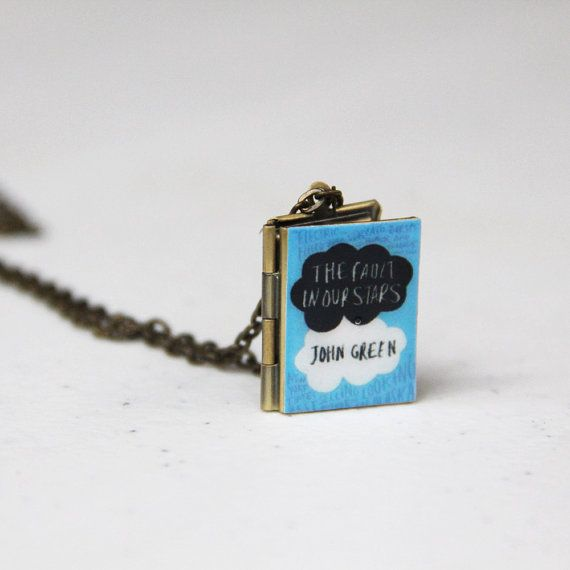 The Fault in our Stars-I must have this necklace.