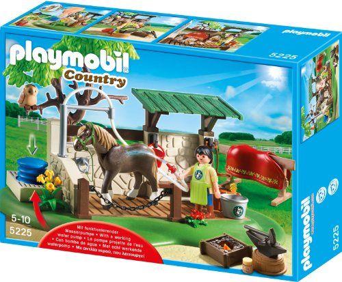 Playmobil – 5225 – Jeu de Construction – Box de Soins pour Chevaux | Your #1 Source for Toys and Games