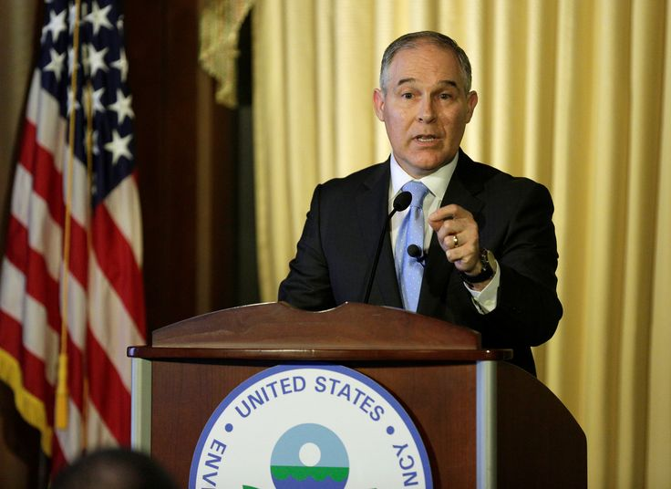 New EPA chief Pruitt cozy with fossil fuel industry, emails reveal  BY MICHAEL BIESECKER AND JASON DEAREN, ASSOCIATED PRESS  February 22, 2017 at 4:30 PM EST  More than 7,500 pages were released under court order Tuesday evening after an Oklahoma judge ruled that Pruitt had been illegally withholding his correspondence.