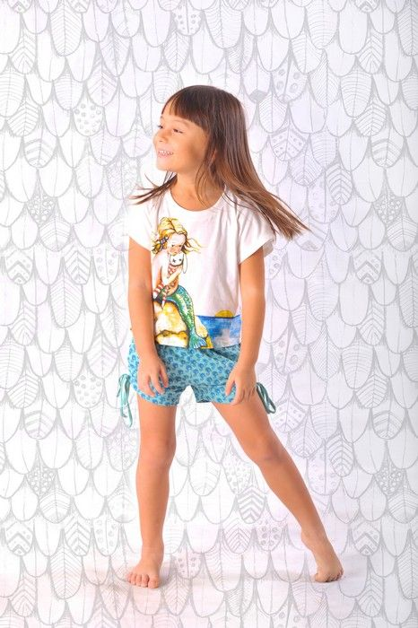 Paper Wings Summer 14Paper Wings Girls Little Mermaid Tee
