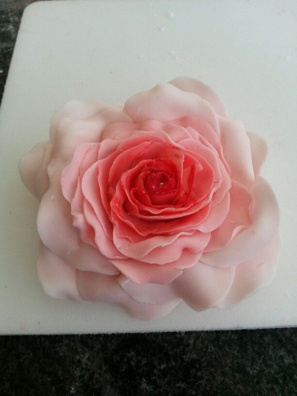 77 best Motivtorten, Fondant Deko images on Pinterest - rose aus stein deko