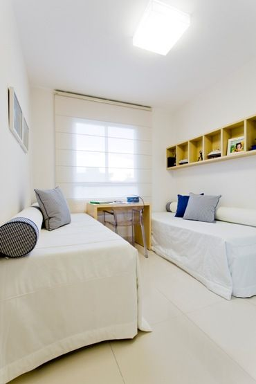 Quarto de solteiro do Decorado http://cyrelaplanoeplano.com.br/imovel/lacqua-condominium-club