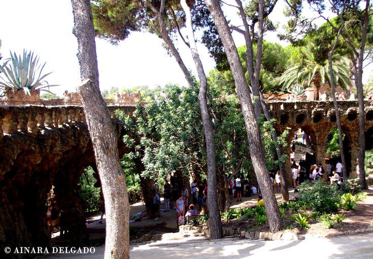 Parque Güell - Barcelona 13-08-2015