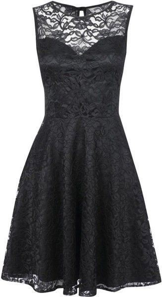 Black lace dress: Fashion, Style, Clothing, Black Laces, Lace Overlay, Black Lace Dresses, Little Black Dresses, Closet, Lace Bridesmaid Dresses