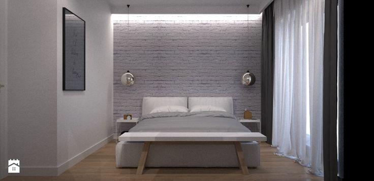T.House - Średnia sypialnia małżeńska, styl nowoczesny - zdjęcie od…