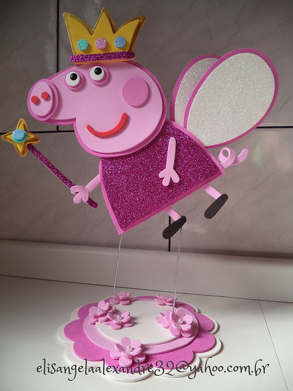 Peppa Pig en foami