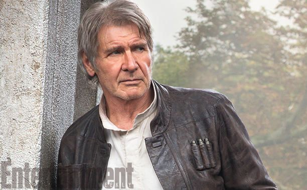 Harrison Ford is Han Solo. #Theforceawakens #starwars