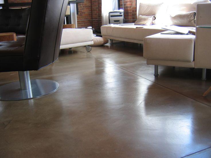 painted concrete floors | Garage Floor Epoxy, Decorative Concrete Paint, Basement Floor, Boston ...