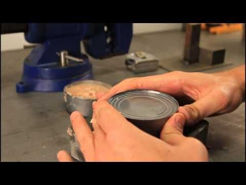 How to Open a Can without Can Opener or tools
