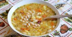 recept na domácí fazolovou polévku