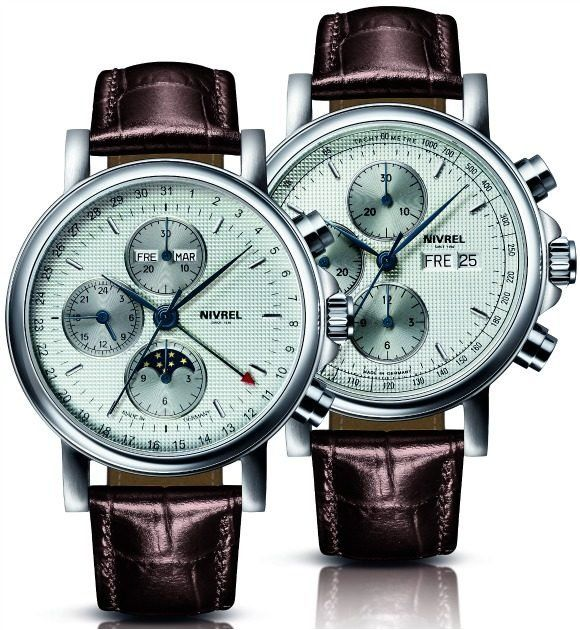 The Two Grand Chronographe Watch Models from Nirvel