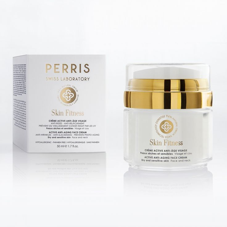 Active Anti-Aging Face Cream Skin Fitness