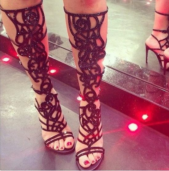 1000  images about knee high gladiator sandals on Pinterest ...
