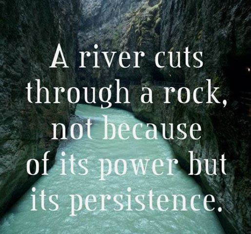 Persistence Motivational Quotes Teamwork: With Direction, Focus And Persistence Everything Is
