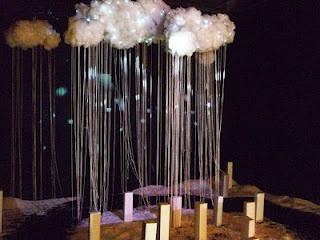 "Karya Adi Panuntun ini berjudul ""Constellation Neverland"", penggambaran kerinduan akan hujan dan salju diwujudkan dengan pembuatan lingkungan artifisial. Semua ini diwujudkan untuk membangun suasana hati penontonnya sehingga dapat mempengaruhi pengalaman emosi dan pikiran-pikiran manusia."