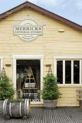 Merricks General Wine Store. Open daily for breakie and lunch.