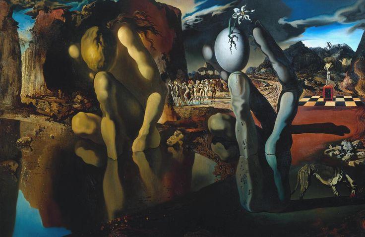 Salvador Dalí 'Metamorphosis of Narcissus', 1937 © Salvador Dali, Gala-Salvador Dali Foundation/DACS, London 2016