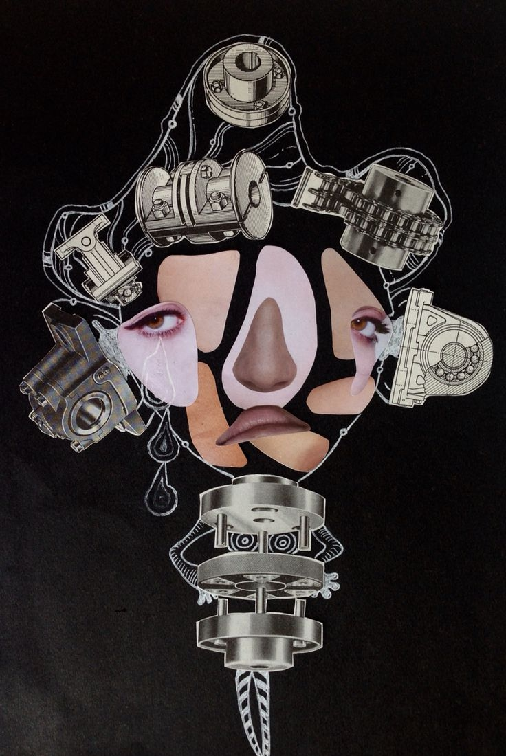 Collage work~ By Tori Timmings.