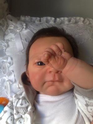 Reborn baby Emanuele