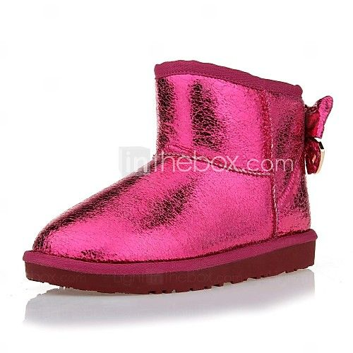 Women's Shoes Round Toe Flat Heel Ankle Boots More Colors available - USD $39.99