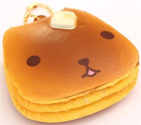 cute Kapibarasan pancake squishy cellphone charm
