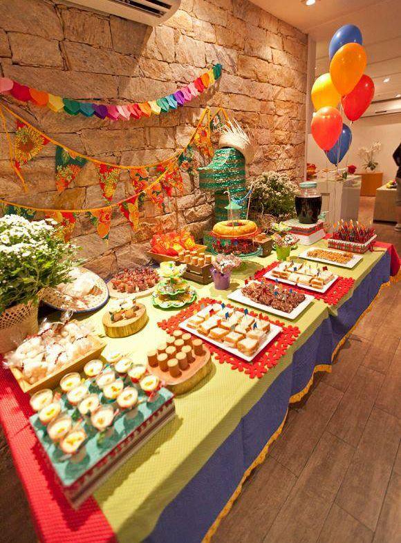 Festa julina é tema de aniversário infantil: veja dicas de decoração - Mães - GNT