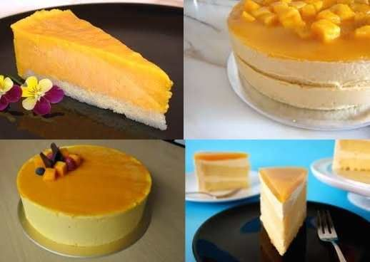 How to Make Mango Cake and Mango Cheesecake