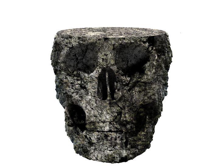 Stone Skull Island PNG Free
