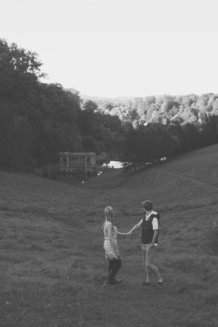 Engagement at Prior Park in Bath  Bex & Adam // Black and white photography // Matt Fox Photography - blog