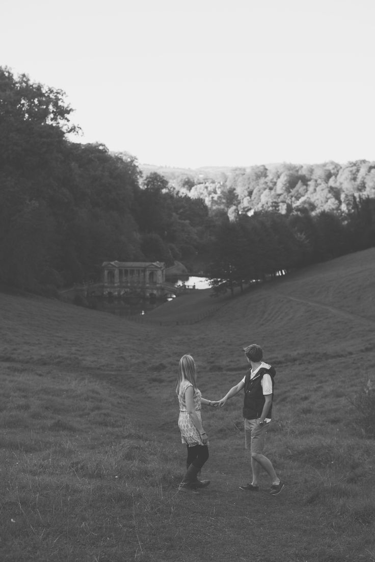 Engagement at Prior Park in Bath  Bex & Adam // Black and white photography // Matt Fox Photography - blog