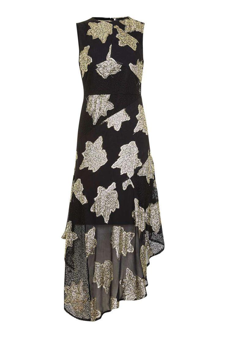 Hanky Hem Lace Midi Dress - THE GRUNGE GIRL - We Love - Topshop USA