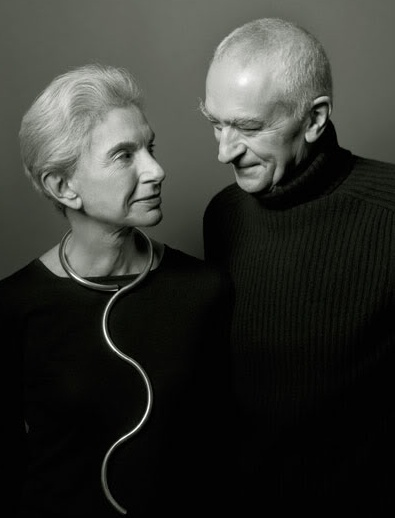 Him  and his wife had a design firm together called Vignelli Associates